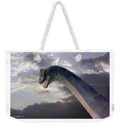 Dinosaur Sky Weekender Tote Bag