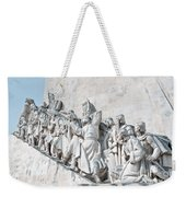 Discovery Monument Lisbon Portugal Weekender Tote Bag