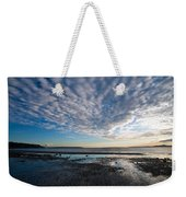 Discovery Park Beach Sunset Weekender Tote Bag