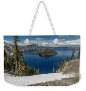 Discovery Point And Wizard Island Weekender Tote Bag