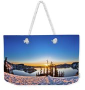 Discovery Point Sunrise Weekender Tote Bag