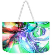 Disorderly Color Abstract Weekender Tote Bag