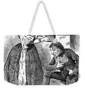 Disraeli Cartoon, 1876 Weekender Tote Bag