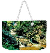 Distant Ozone Falls And Rapids - Summer Weekender Tote Bag