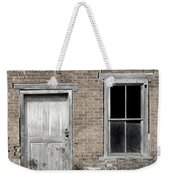 Distressed Facade Weekender Tote Bag
