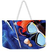 Dive Gear Weekender Tote Bag by Carlos Caetano