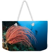 Divers And Whip Coral Weekender Tote Bag