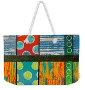 Diversity - Friction Between Factions V2 Weekender Tote Bag by Jeremy Aiyadurai