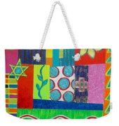 Diversity Has Proven God Is Love V2 Weekender Tote Bag by Jeremy Aiyadurai