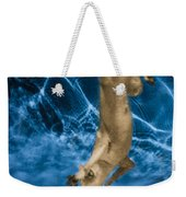 Diving Dog 2 Weekender Tote Bag