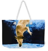 Diving Dog 3 Weekender Tote Bag