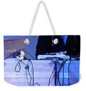 Dj Peter Pan In Bethlehem Weekender Tote Bag