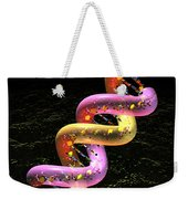 Dna Fat Coil Weekender Tote Bag by Russell Kightley