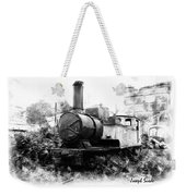 Do-00508 Mar Mikhael Train Bw Weekender Tote Bag
