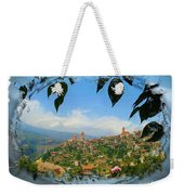 Do-00548 Town Of Bcharre Weekender Tote Bag