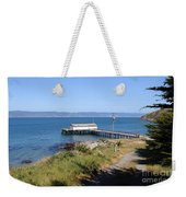 Dock At Point Reyes Calfornia . 7d16069 Weekender Tote Bag
