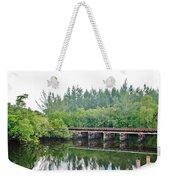 Dock On The North Fork River Weekender Tote Bag