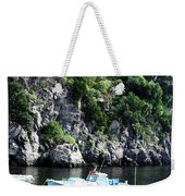Docked At Sea Weekender Tote Bag