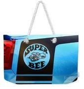 Dodge Charge Super Bee Logo  Weekender Tote Bag