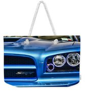 Dodge Charger Front Weekender Tote Bag