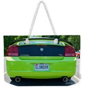 Dodge Charger Hemi 9 Weekender Tote Bag