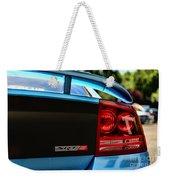 Dodge Charger Srt8 Rear Weekender Tote Bag