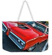 Dodge Super Bee In Red Weekender Tote Bag