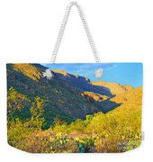 Dog Canyon Nm Oliver Lee Memorial State Park Weekender Tote Bag