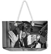 Dog On The Campaign Trail Weekender Tote Bag