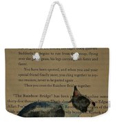 Dog Prayer Weekender Tote Bag