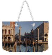 Doges Palace And San Marcos Bell Tower Weekender Tote Bag