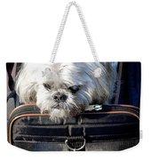Doggie To Go Weekender Tote Bag