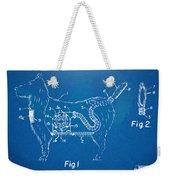 Doggie Vacuum Patent Artwork Weekender Tote Bag