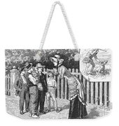 Dogs, 19th Century Weekender Tote Bag
