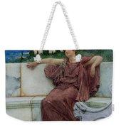 Dolce Far Niente Weekender Tote Bag by Sir Lawrence Alma-Tadema