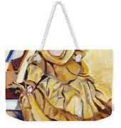 Doll On Canvases  Weekender Tote Bag