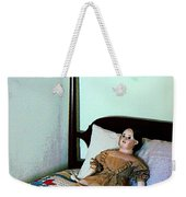 Doll On Four Poster Bed Weekender Tote Bag