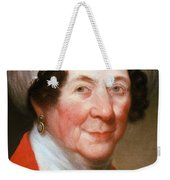 Dolley Madison Weekender Tote Bag by Photo Researchers