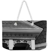 Dollhouse Black And White Weekender Tote Bag