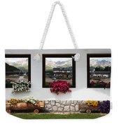 Dolomiti On Spring Weekender Tote Bag