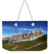 Dolomiti's Panoramic Weekender Tote Bag