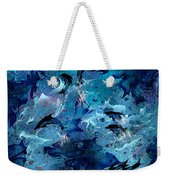 Dolphin Enchantment Weekender Tote Bag