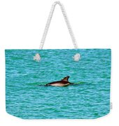 Dolphin Swimming Weekender Tote Bag