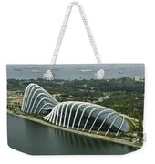 Domes Inside The Gardens By The Bay In Singapore Weekender Tote Bag