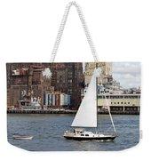Domino Sugar Sailing Weekender Tote Bag