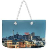 Domino Sugars Sign Day Weekender Tote Bag