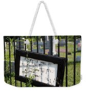 Donations Weekender Tote Bag