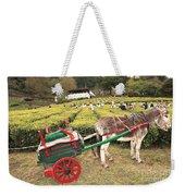 Donkey And Tea Gardens Weekender Tote Bag