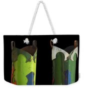 Dont Judge Me Till You Walk A Mile In My Cowboy Boots Weekender Tote Bag