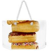 Donuts Weekender Tote Bag by Elena Elisseeva
